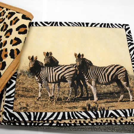 animalprint-placemats