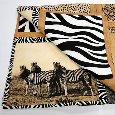 Animal Print Placemat & Table Runner Set - Childrens AIDS ...